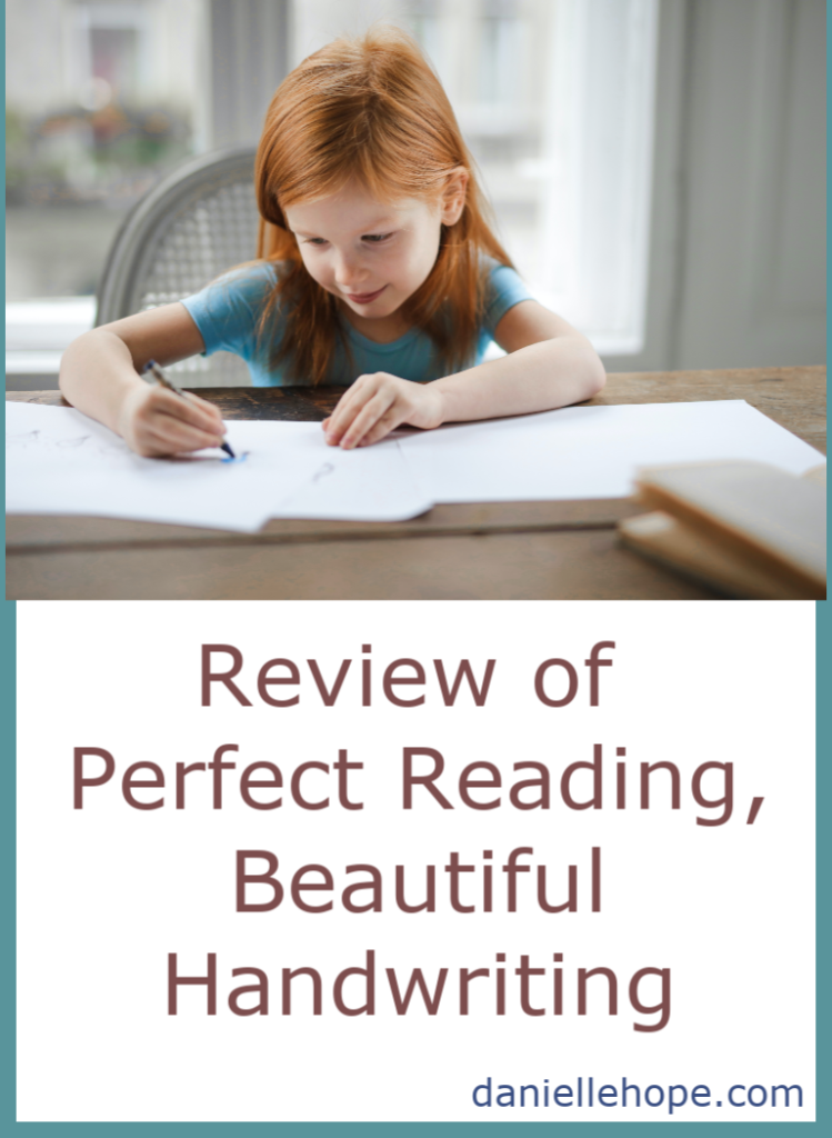 Reviewing Perfect Reading, Beautiful Handwriting