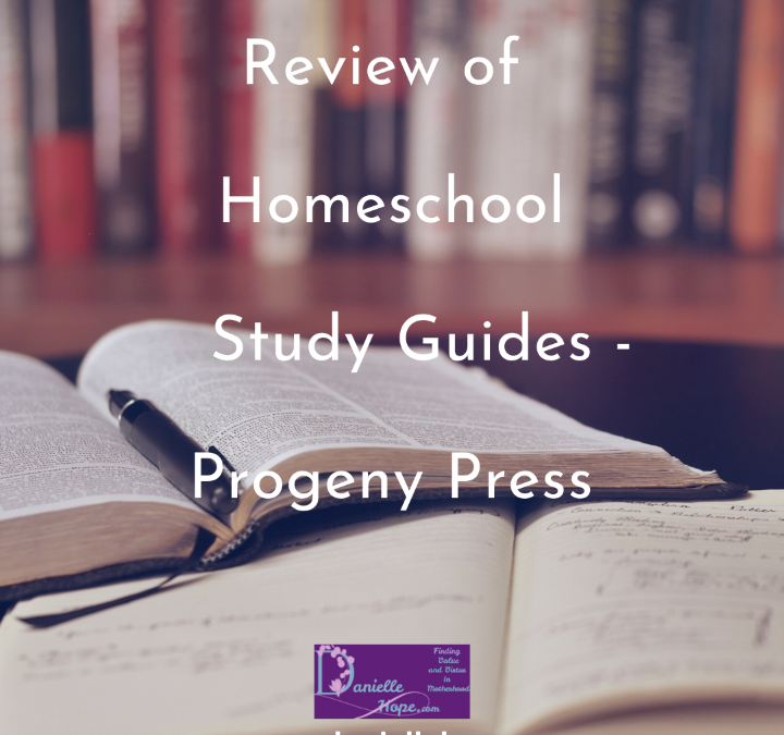 Review Of Homeschool Study Guides – Progeny Press